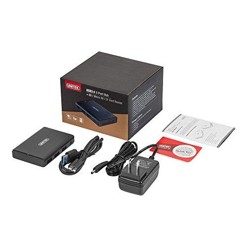 Unitek 3 Ports USB 3.0 Hub with 3-Slots Card Reader Combo with 5V 2A Adapter for iMac, MacBook, MacBook Pro, MacBook Air, Mac Mini, ChromeBook Pixel, Microsoft Surface Pro, Lenovo Yoga, or Any PC by Unitek (Image #7)
