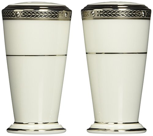 Noritake Chatelaine Platinum Salt & Pepper Shakers