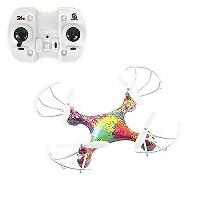 HaloVa RC Drone, Mini Pocket Headless Mode Quadcopter Helicopter Airplane Aircraft UFO Toy, One Key Return by HaloVa