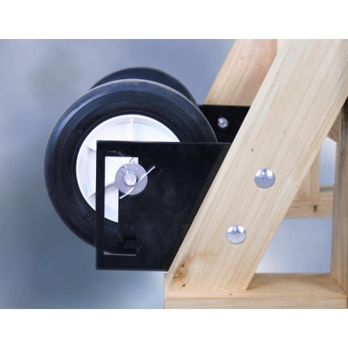 Retractable Wheels for Happy Valley Ranch Presses (Homesteader/American Harvester)