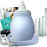 Silicone Enema Bulb Kit - Extra Large 15oz