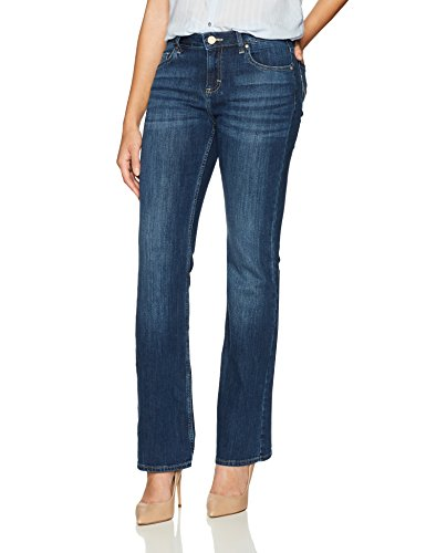 Riders by Lee Indigo Women's Modern Collection 5 Pocket Boot Cut Jean, Mid Shade, 12A Denim 5 Pocket Bootcut Jeans