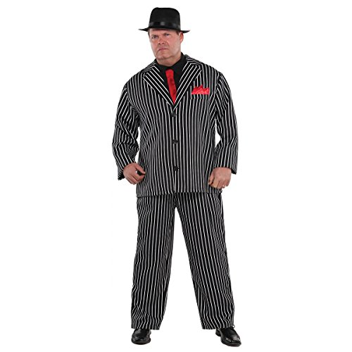 Mob Boss Costume - Plus Size - Chest Size 52