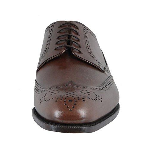 Scarpe Oxford In Pelle Marrone Chiaro Dolce & Gabbana Marrone