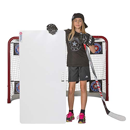 Better Hockey Extreme Shooting Pad - Size 24 inches x 48 inches - Simulates The Feel of Real Ice - Easy to Carry - Great for Shooting, Passing and Stickhandling - Weather Proof Coating