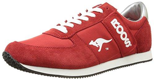 KangaROOS Combat 71490 Herren Sneaker Rot (Red/Wht)