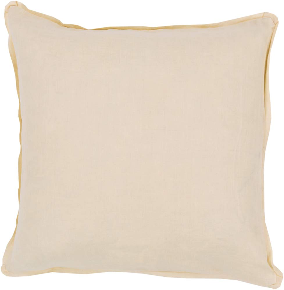 Solid & Border Pillow Cover Only Square 20'' x 20'' WL-068376-S