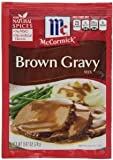 MCCORMICK GRAVY MIX BROWN .87 OZ EACH (1)