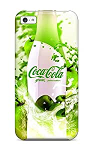 New ZippyDoritEduard Super Strong Cocacola Green Tpu Case Cover For Iphone 5c