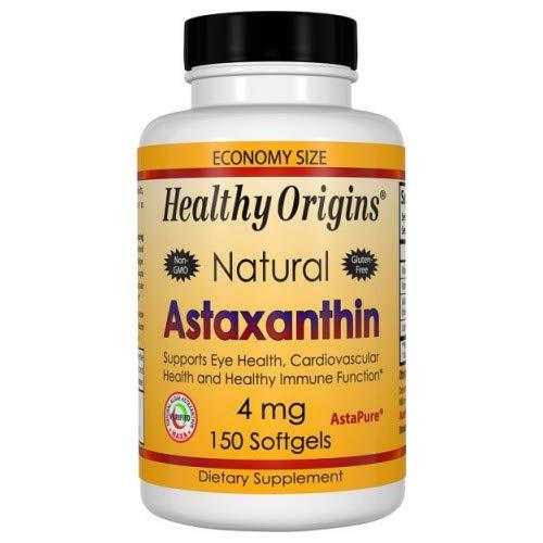 Healthy Origins Astaxathin 4 Mg 150 Sgel