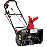 Snow Joe Max SJM988 18-Inch 13.5-Amp Electric Snow Thrower with Light in RED