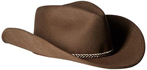 Stetson Men's Rawhide 3X Buffalo Felt Hat Mink 7 5/8 ()