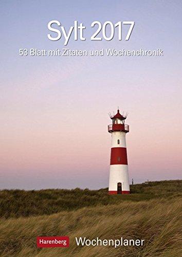 sylt-kalender-2017-wochenplaner-53-blatt-mit-zitaten-und-wochenchronik
