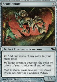 Magic: the Gathering - Scuttlemutt - Shadowmoor (Artifact Creature Scarecrow)