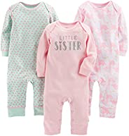 Simple Joys by Carter's Baby Girls' 3-Pack J