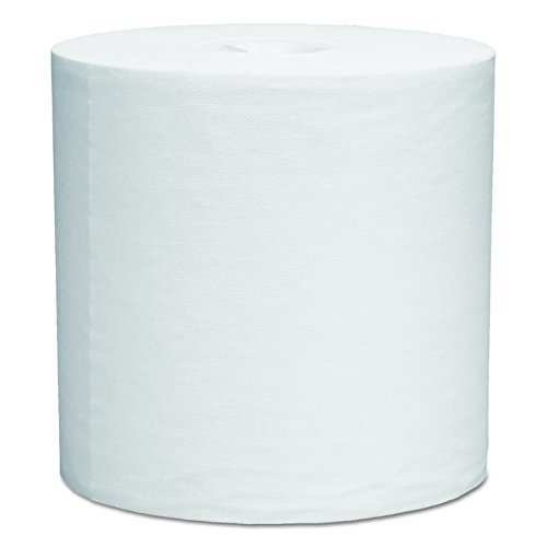 WypAll L40 Disposable Cleaning and Drying Towels (05796), Limited Use Wipers, White, 2 Center-Pull Rolls per Case, 200 Sheets per Roll; 400 Sheets Per Case (Industrial Wiper Center Pull)