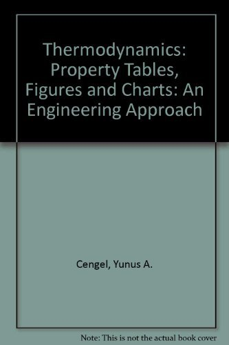 Thermodynamics: Property Tables Booklet T/A
