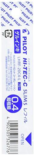 Pilot Ballpoint Pen Hi-Tec-C Slims Refill, Blue Ink (LHRF-20C4-L)