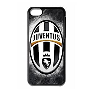 iPhone 5c Cell Phone Case Black Juventus Hard Protective Phone Case Cover XPDSUNTR23084