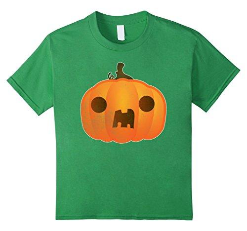 Homemade Halloween Pumpkin Costumes Kids (Kids Boo ! Pumpkin Funny Halloween Costume TShirt Trick Or Treat 6 Grass)