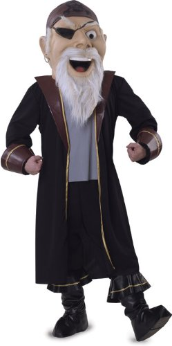 Rubie's Costume Co Pirate Mascot Costume, One Size, Brown