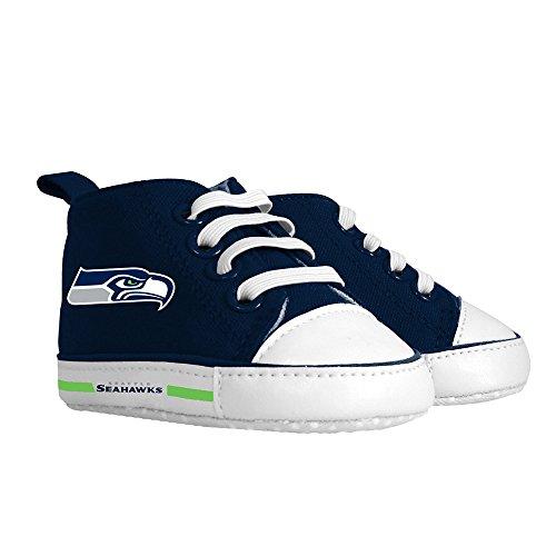 Seattle Seahawks by Baby Fanatic Baby Fanatic Pre-Walker Hightop