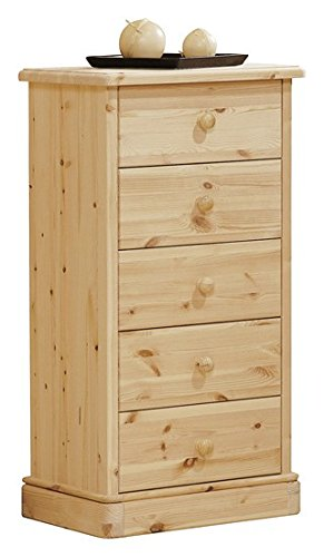 Arredamenti Rustici Cajonera de madera de pino - bruto ...