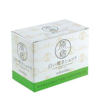 【東京限定】銀座コロンバン(GINZAcolombin)原宿白い焼きショコラ1箱5個入り
