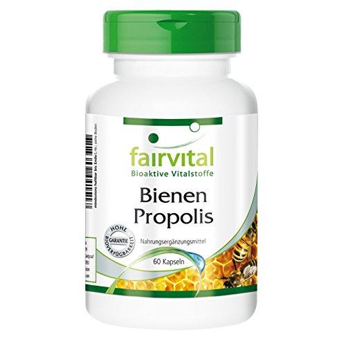 Bienen Propolis 500 mg reich an Polyphenolen 60 Kapseln, vegetarisch