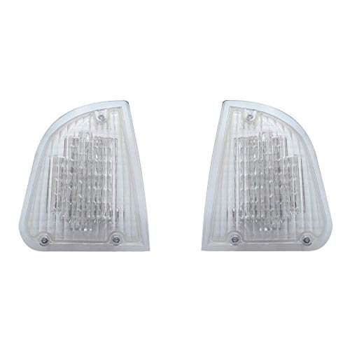 United Pacific Kenworth T600 LED Turn Signal Lights/Amber LED Clear Lens/Pair Left and Right