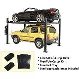 Auto Lift Car-Park-8 Car Storage Lift 8,000 lb 4 Post Parking Lift