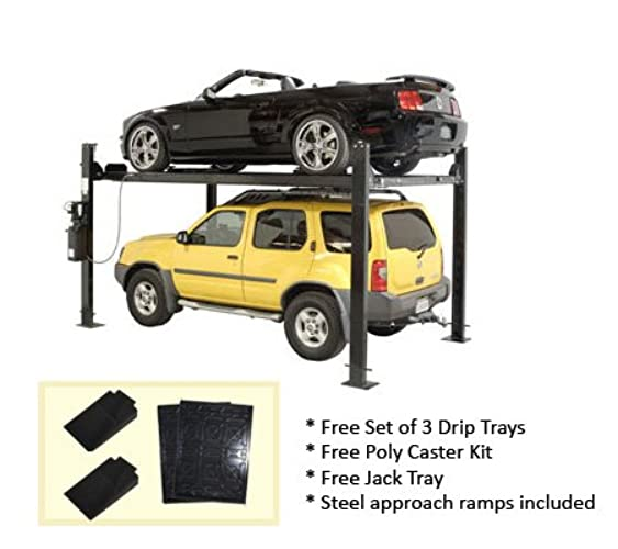 Auto Lift Car-Park-8 Car Storage Lift 8,000 lb 4 Post Parking Lift