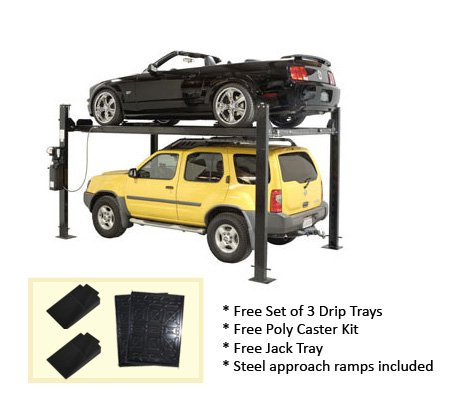 Auto Lift Car-Park-8 4 Post Parking Storage Car Lift 8,000 lb