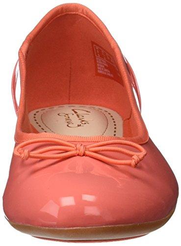 Arancione brevetto Da Corallo Fiore Clarks Donna Mocassini Couture wqCxYXT