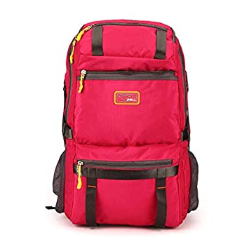 SPA Casual Big Capacity Polyester Travel Backpack Multi Pocket Computer Bag   Amazon.in  Bags db1f794ce9898
