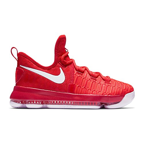 University University Nike 5 5 Chaussures Zoom Kd9 Rouge 37 Blanc D' cole Degr Y4qHgwxq