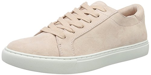 Kenneth Cole New York Women's Kam Fashion Sneaker, Rose Suede, 7.5 M US