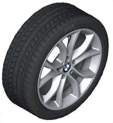 Original BMW X6 F16 Invierno Completo juego de ruedas V de radios 594 19 Michelin