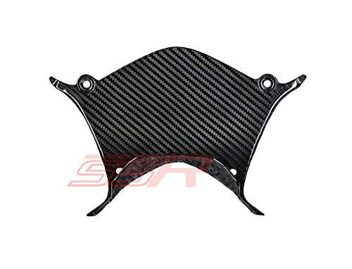 2015 2016 2017 Yamaha YZF R1 R1M R1S (100%) Twill Carbon Fiber Rear Seat Tail Center Panel Cover Fairing