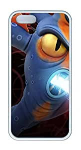 TPU White Color Soft Case For iPhone 5S Super Soft Ultra-thin Phone Case Suit iPhone5/5S Very Fine Workmanship Case Easy To Operate Big Hero 6 Baymax 22