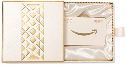 Amazon.com $100 Gift Card in a Premium Gift Box (Gold)