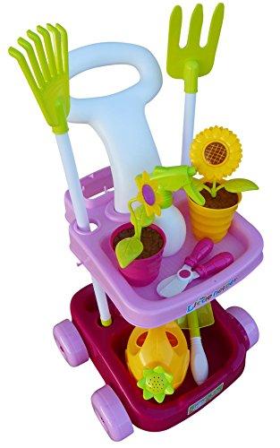 A185 18 Tlg Spielzeug Garten Pflege Set Für Die Kleinen