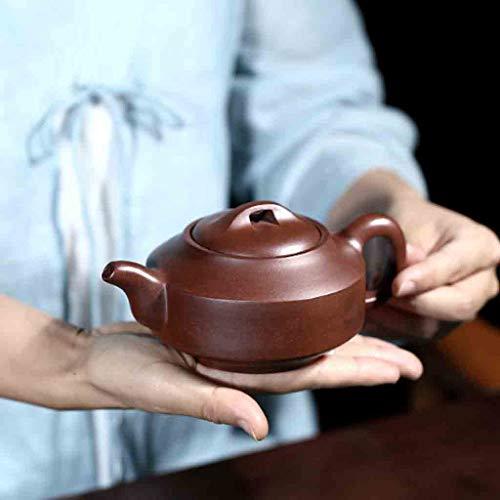 Tea Cozies Pure Handmade teapot Large Capacity Kung Fu Tea Set Tao Jian Hanjun Pot (Color : Brown, Size : 15.29.58cm) by Tea Cozies (Image #2)