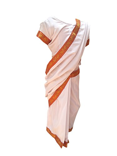 Indira Gandhi fancy dress for kids,National Hero/freedom fighter Costume for Independence Day/Republic Day/Annual (National Fancy Dress Costumes)