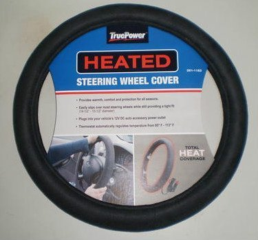 TruePower 20-8305 Heated Steering Wheel Cover (Car Stering Wheel Cover compare prices)