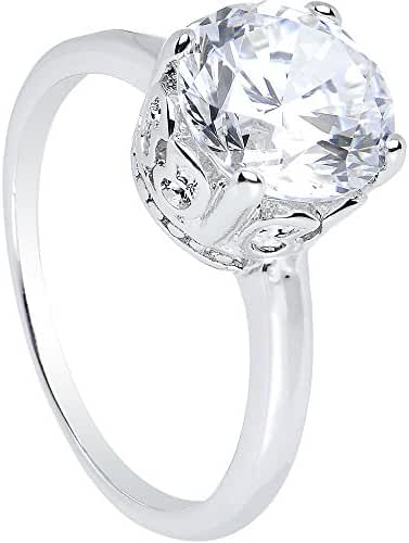 Clear Pretty Princess Ring