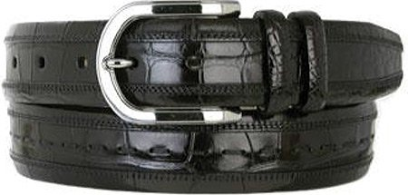 Mezlan Men's 8869 Belt Black 42