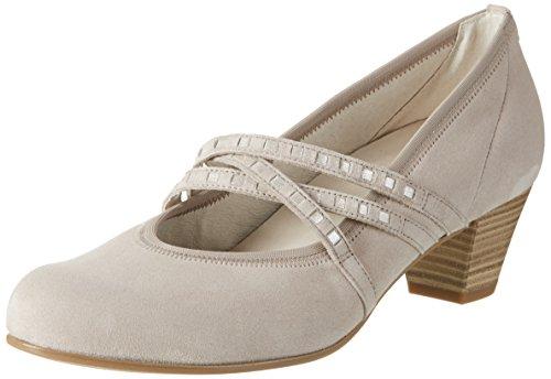 Gabor Shoes Comfort, Zapatos de Tacón para Mujer Beige (light nude 38)