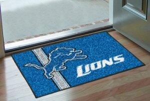 - Fanmats Detroit Lions Uniform Inspired Starter Rug
