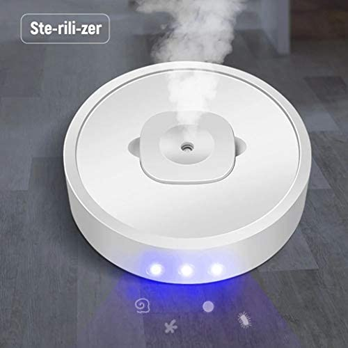 Best4UrLife 2020 New Creative Smart 4-in-1 Movable Air Purifier Humidifier UV Disinfection Aroma Diffuser SprayerAdjustable Brightness and Mist Mode / Best4UrLife 2020 New Creative Smart 4-in-1 Movable Air Purifier Humidifier UV Di...